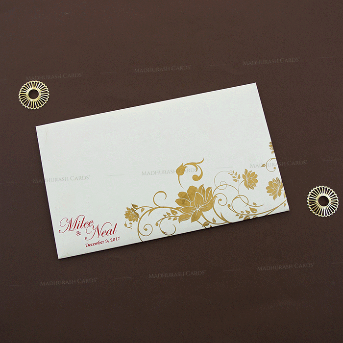 Hindu Wedding Cards - HWC-14128 - 3