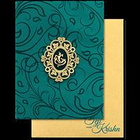 Fabric Wedding Cards - FWI-17059