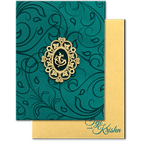 Hard Bound Wedding Cards - HBC-17059