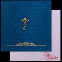Fabric Wedding Cards - FWI-17070