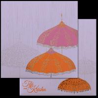 Muslim Wedding Cards - MWC-17086