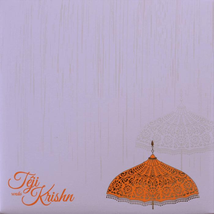 Muslim Wedding Invitations - MWC-17086 - 4