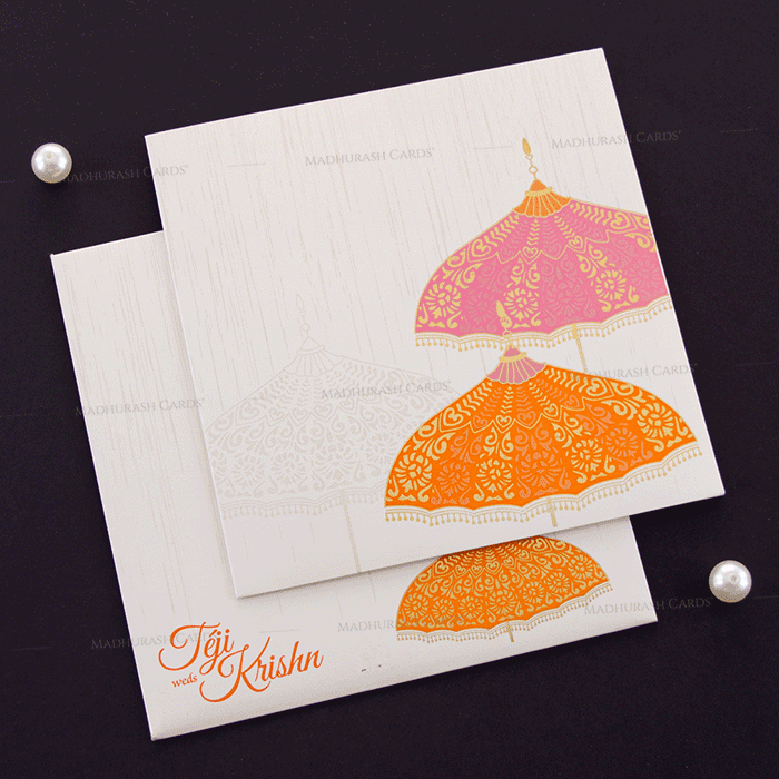 test Hindu Wedding Cards - HWC-17086
