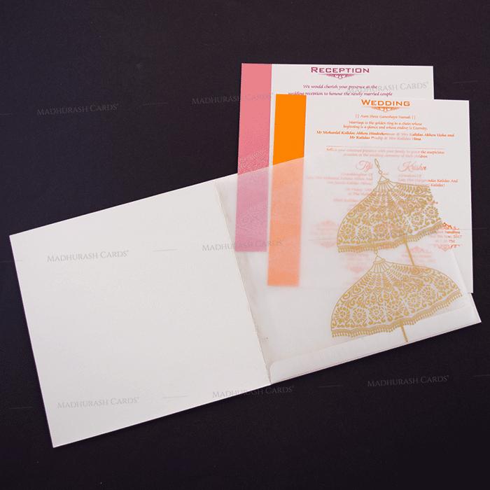 Hindu Wedding Cards - HWC-17086 - 4