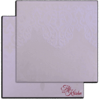 Hard Bound Wedding Cards - HBC-17104