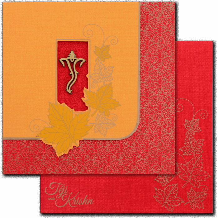 Hindu Wedding Cards - HWC-17115