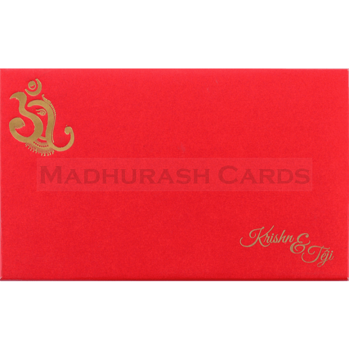 Hard Bound Wedding Cards - HBC-17156 - 3