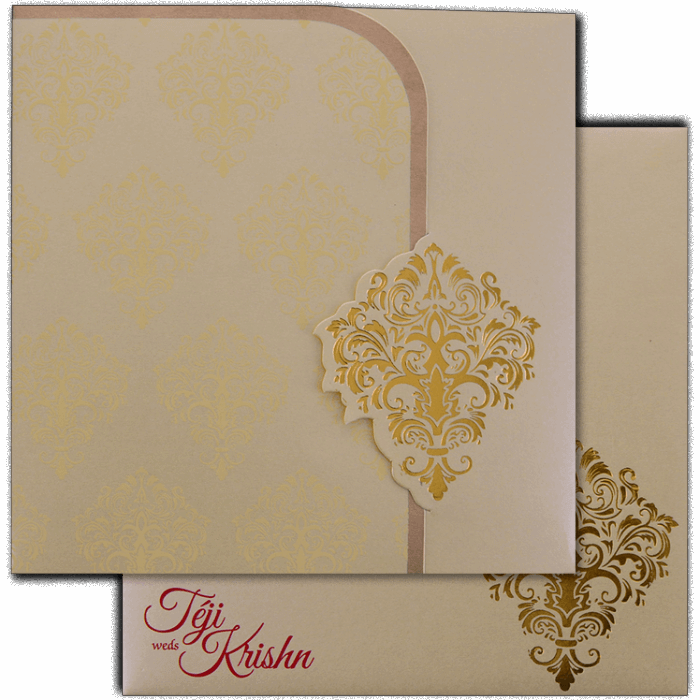 Sikh Wedding Cards - SWC-17163 - 2