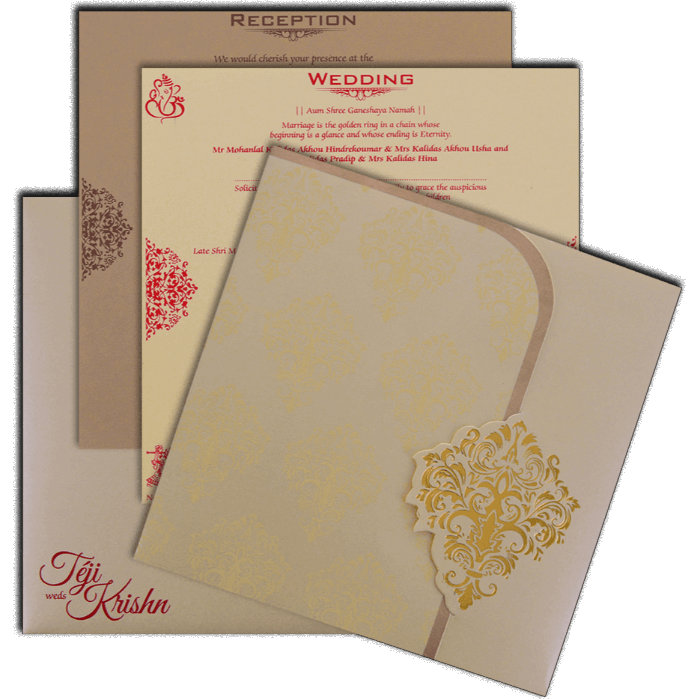 Sikh Wedding Cards - SWC-17163 - 5