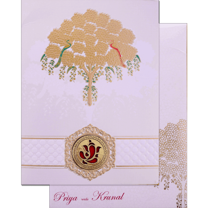Hindu Wedding Cards - HWC-17169