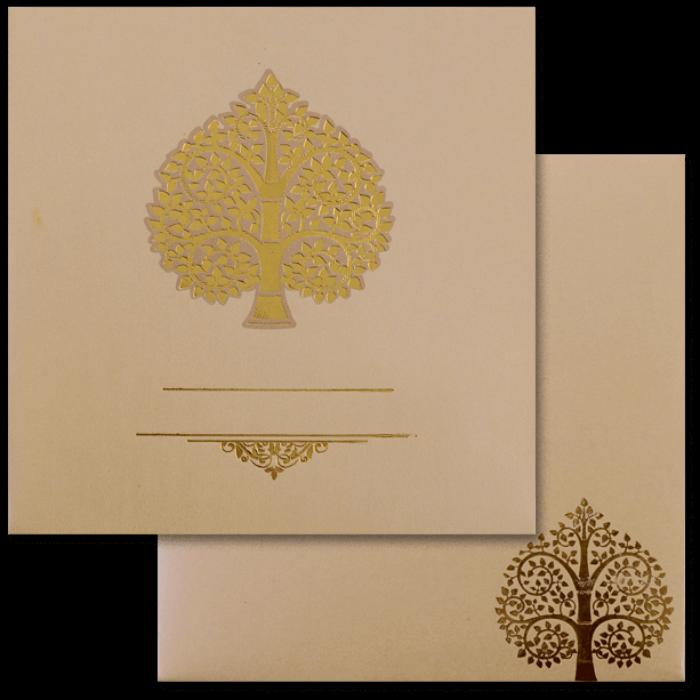 Muslim Wedding Cards - MWC-17189