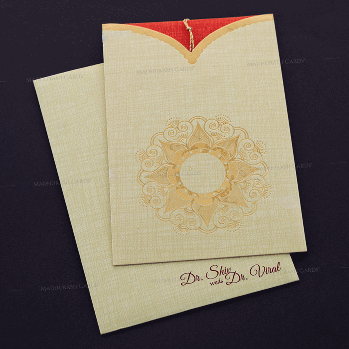 Hindu Wedding Cards - HWC-17184 - 2