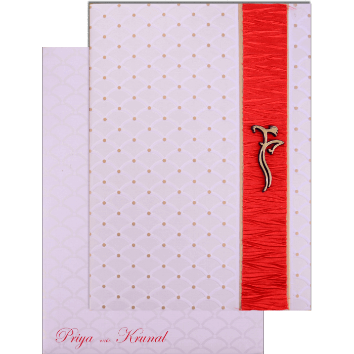 Hindu Wedding Cards - HWC-17170 - 2