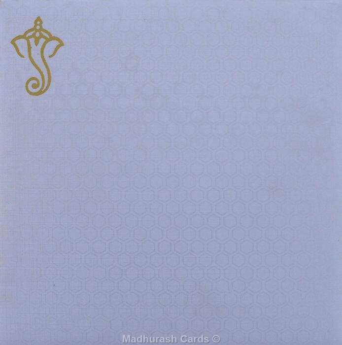 Hindu Wedding Invitations - HWC-17252 - 4