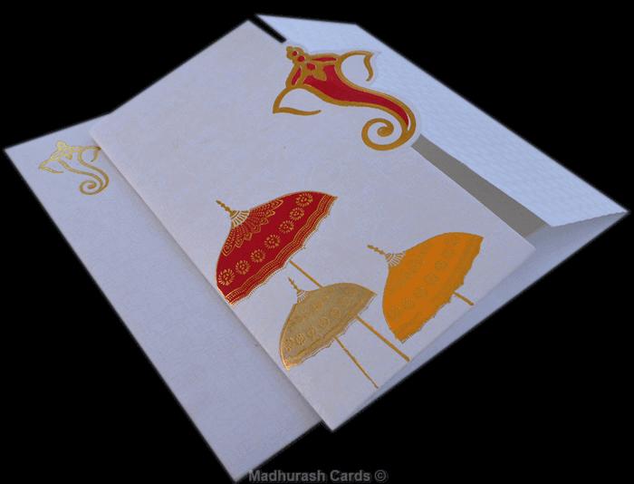 Hindu Wedding Invitations - HWC-17252 - 5