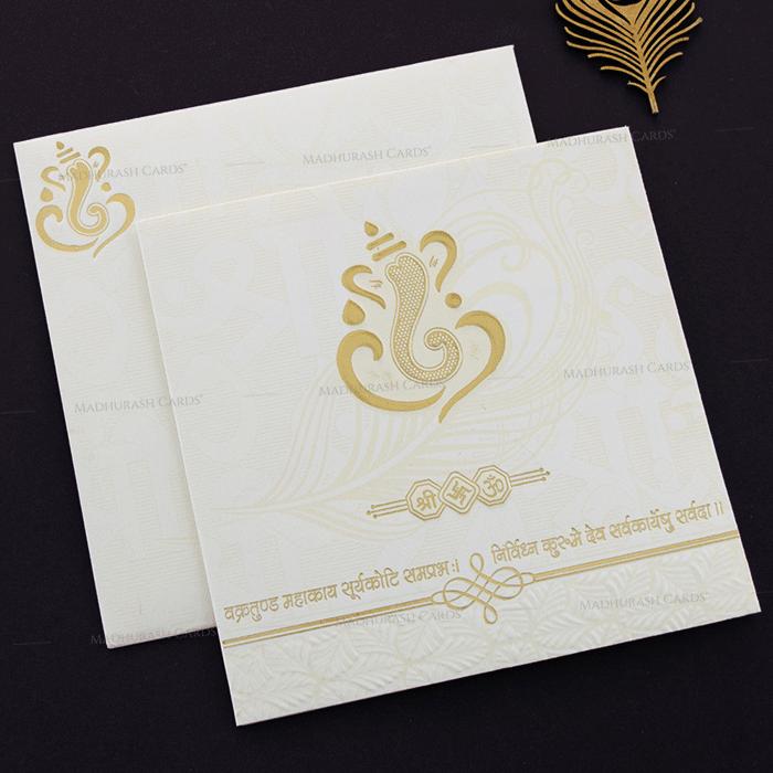 Hindu Wedding Cards - HWC-17286