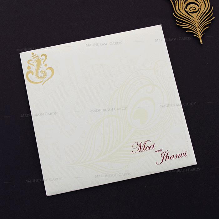 Hindu Wedding Cards - HWC-17286 - 3