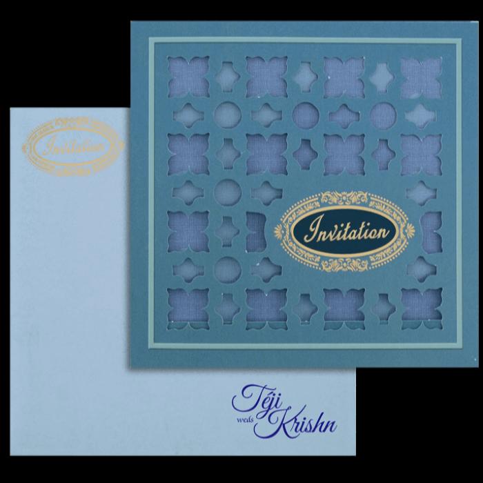 Muslim Wedding Cards - MWC-17288