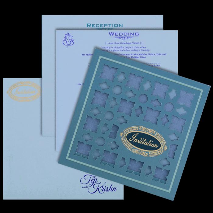 Muslim Wedding Cards - MWC-17288 - 5