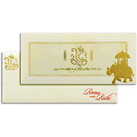 Hindu Wedding Cards - HWC-17295