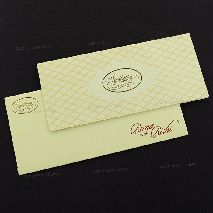 Muslim Wedding Cards - MWC-17312