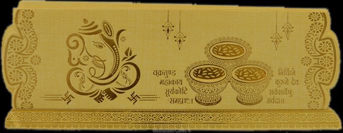 Hindu Wedding Cards - HWC-17310
