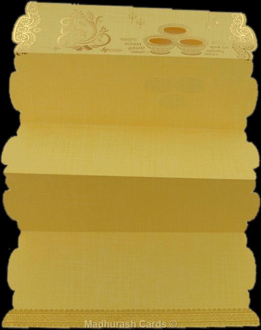 Hindu Wedding Cards - HWC-17310 - 3