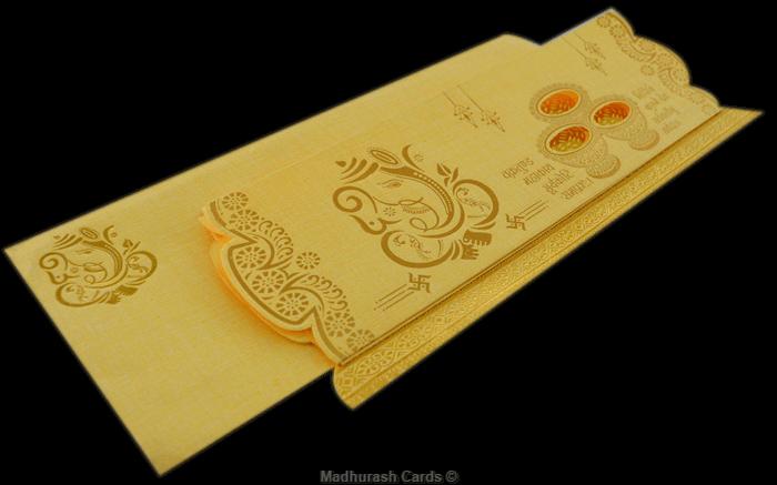 Hindu Wedding Cards - HWC-17310 - 5