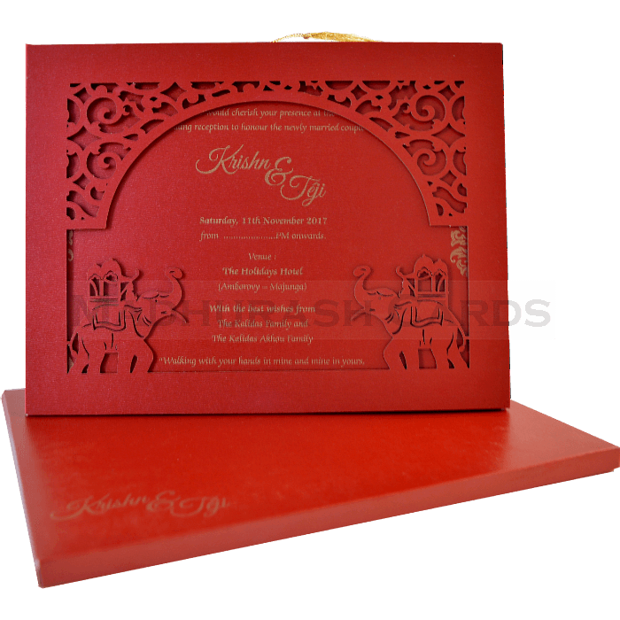 test Laser Cut Invitations - LCC-17019