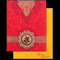 Hard Bound Wedding Cards - HBC-17103