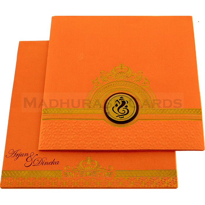 Hindu Wedding Cards - HWC-17134 - 3