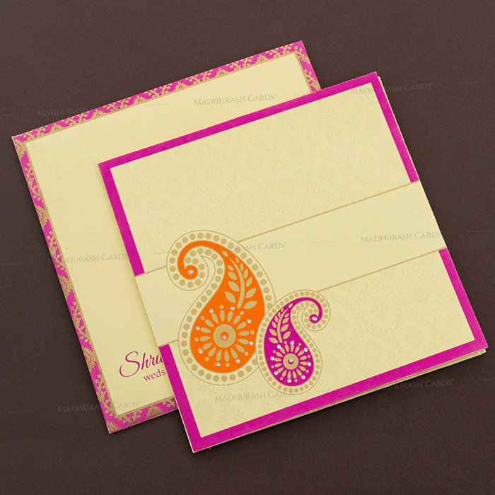 Sikh Wedding Invitations - SWC-17138