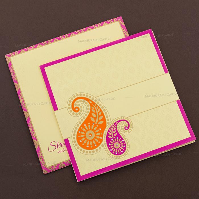 test Sikh Wedding Cards - SWC-17138