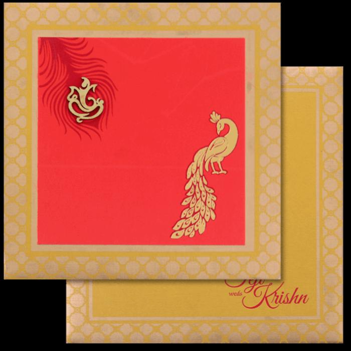 Hindu Wedding Cards - HWC-17148