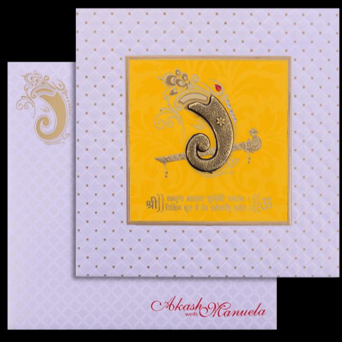Hindu Wedding Cards - HWC-17226
