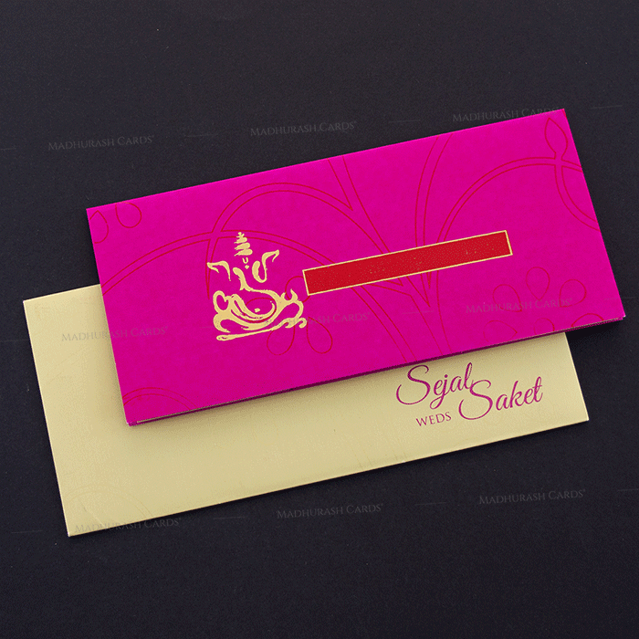 Hindu Wedding Cards - HWC-14145