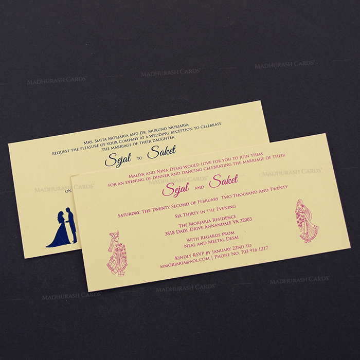 Hindu Wedding Cards - HWC-14145 - 4