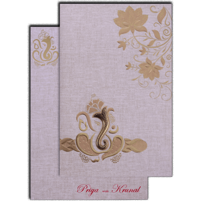Hindu Wedding Cards - HWC-17176 - 2