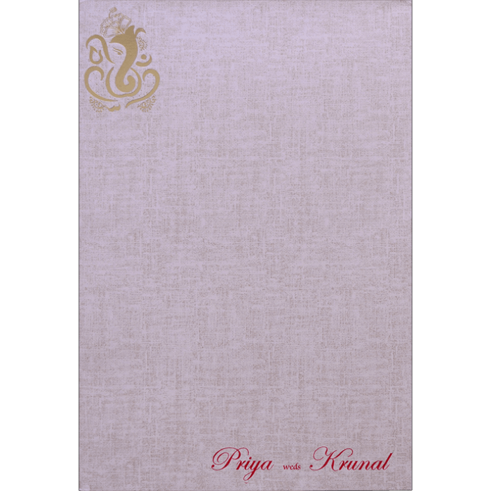 Hindu Wedding Cards - HWC-17176 - 4