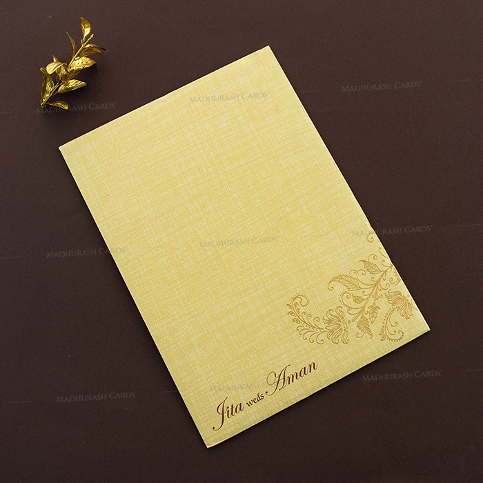 Hindu Wedding Cards - HWC-17158 - 3