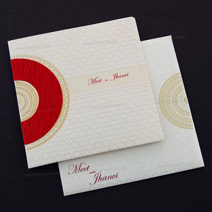 Muslim Wedding Cards - MWC-17186
