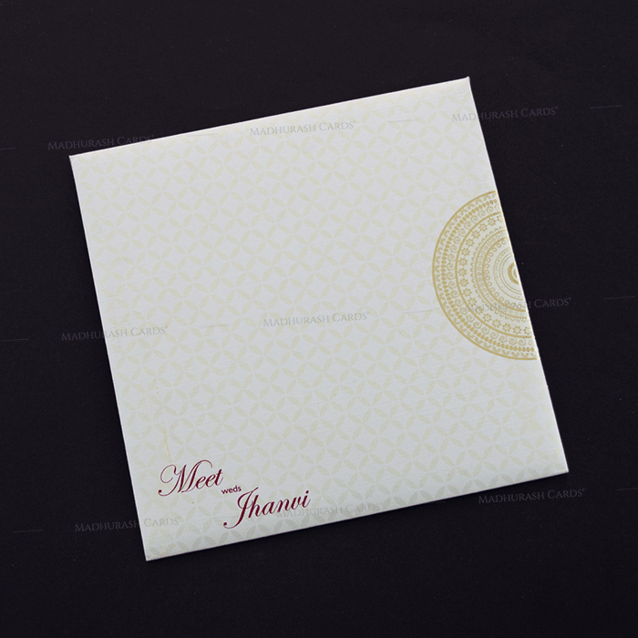 Hindu Wedding Cards - HWC-17186 - 3