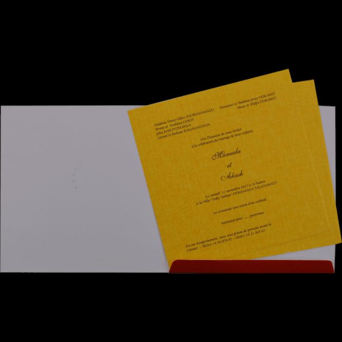 Fabric Invitations - FWI-17185 - 3