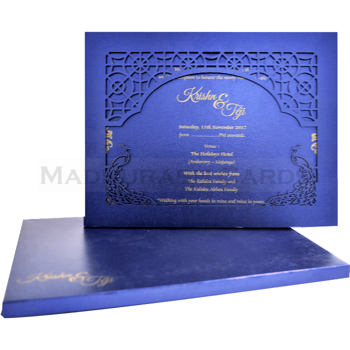 test Laser Cut Invitations - LCC-17020