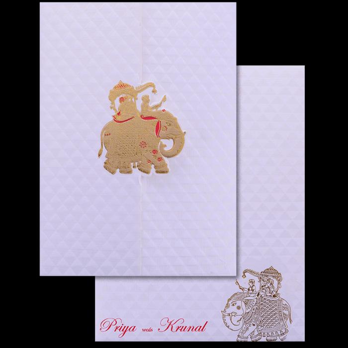 Muslim Wedding Cards - MWC-17229