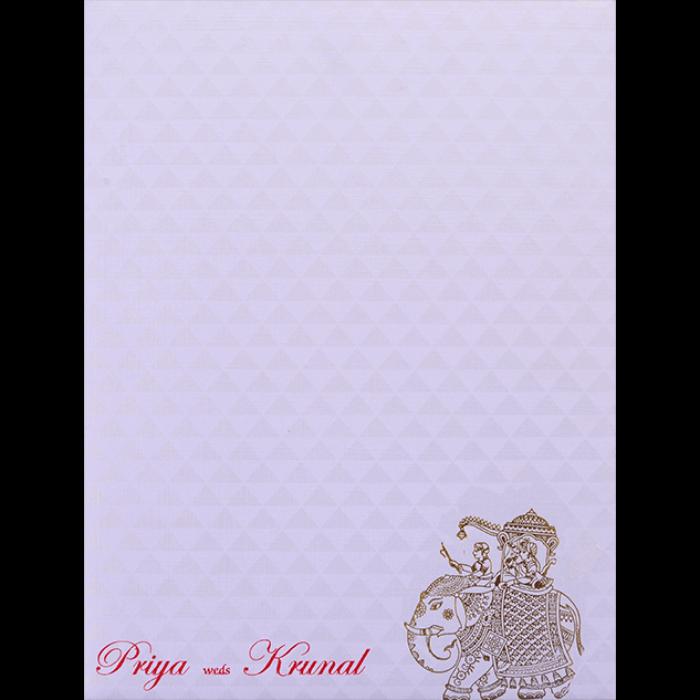 Muslim Wedding Cards - MWC-17229 - 4