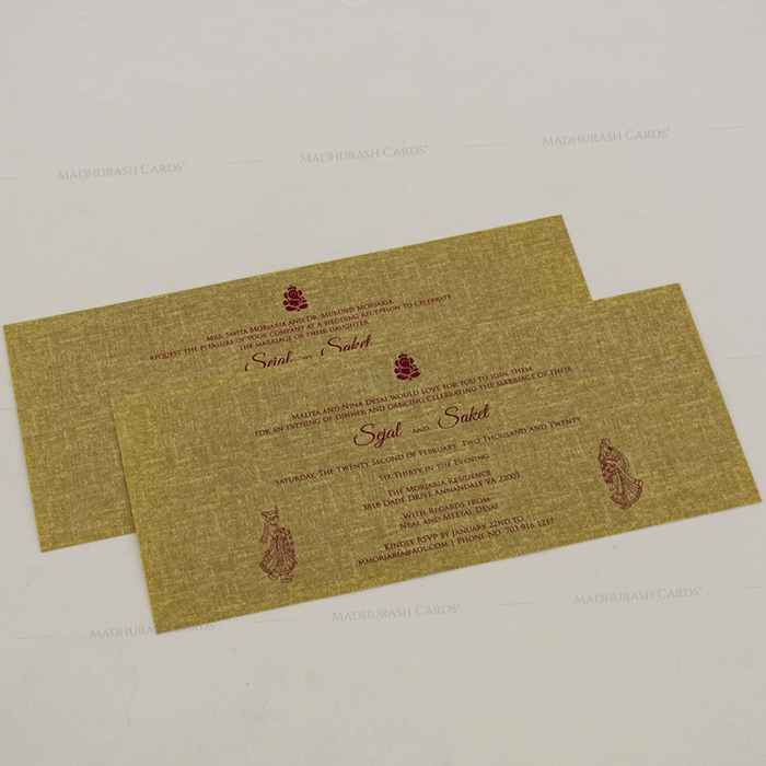 Hindu Wedding Cards - HWC-17256 - 4