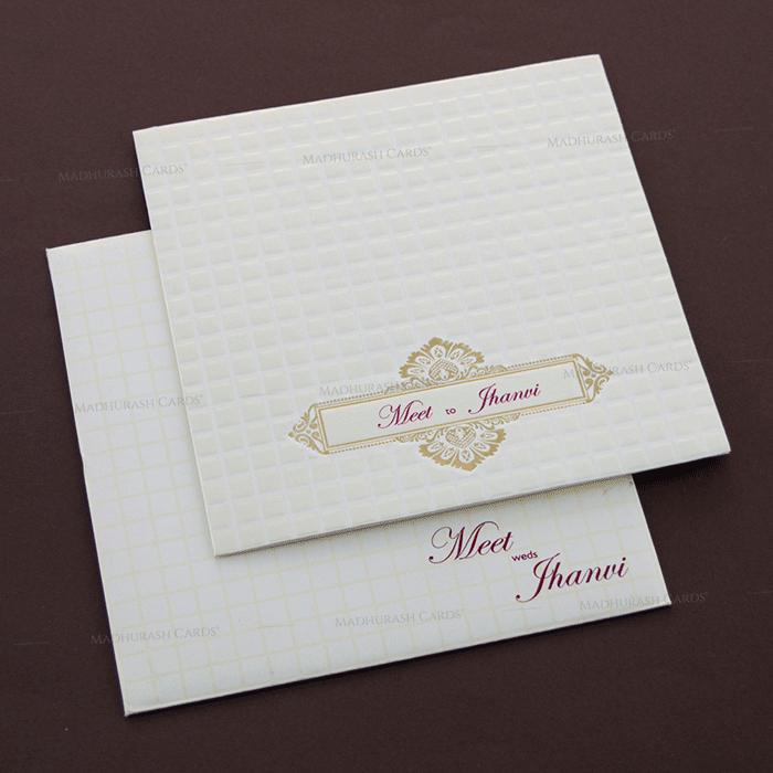 Muslim Wedding Cards - MWC-17270