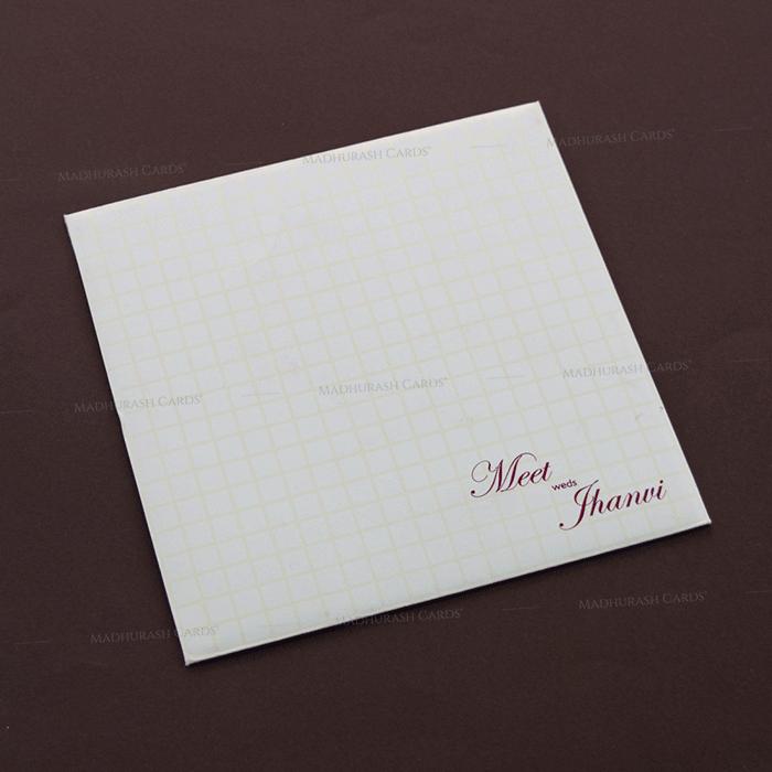 Muslim Wedding Cards - MWC-17270 - 3