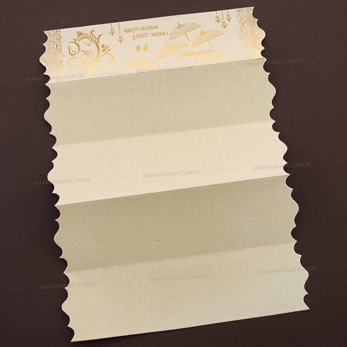 Hindu Wedding Cards - HWC-17319 - 4